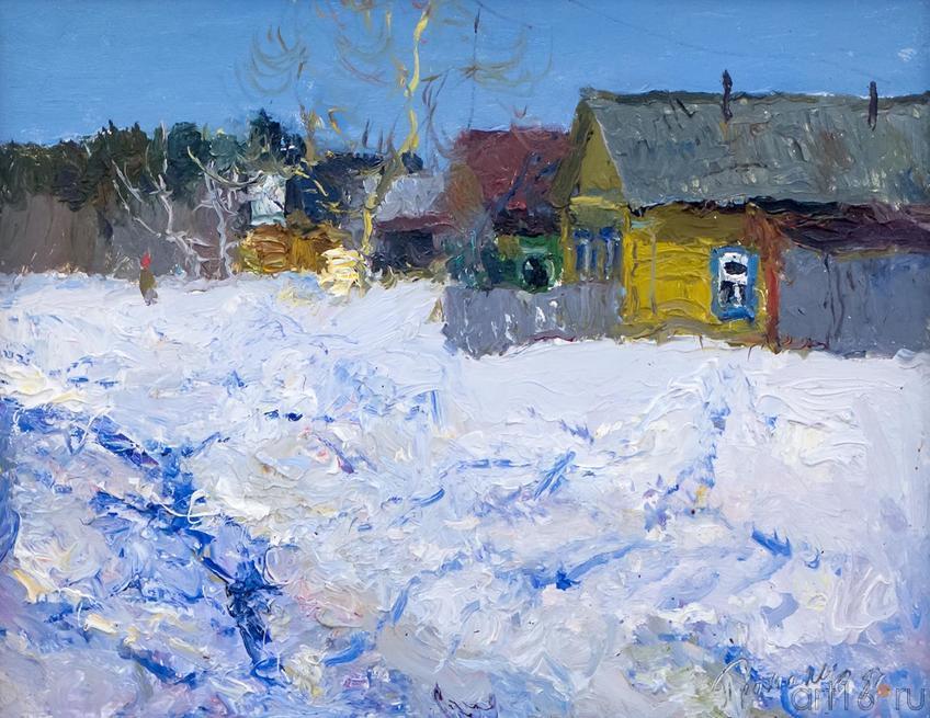 МАРТ. 1987::Андрей Лаврентьевич Прокопьев. Выставка, посвященная 90-летию со дня рождения