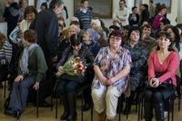 На открытии выставки Прокопьева А.Л., март 2013