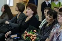 О.Г.Вербина, О.Л.Улемнова, В.А.Рамазанова... Открытие выставки Прокопьева А.Л.