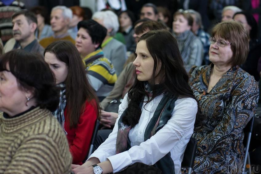 На открытии выставки Прокопьева А.Л., март 2013::Андрей Лаврентьевич Прокопьев. Выставка, посвященная 90-летию со дня рождения