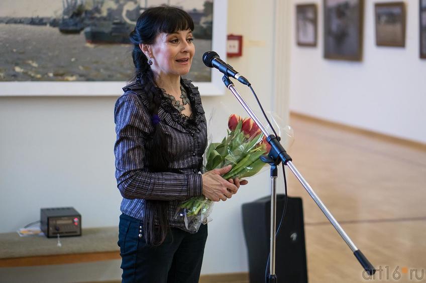 На открытии выставки Прокопьева А.Л. , март 2013::Андрей Лаврентьевич Прокопьев. Выставка, посвященная 90-летию со дня рождения