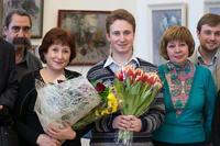 Открытие выставки Прокопьева А.Л.