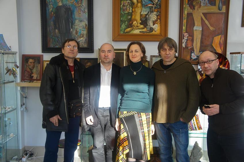 ::Казанские художники на выставке «Арт Палас 2013»