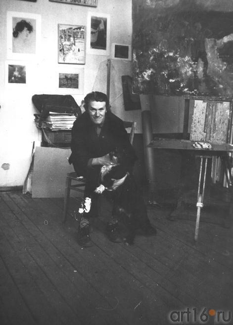 В мастерской::Прокопьев. Архивные фото