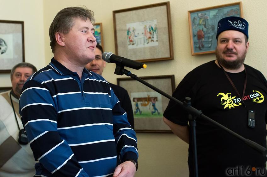 Фото №147281. Сергей Андрианов, Вячеслав Бибишев