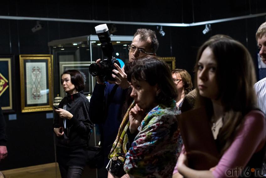 Фото №147485. На открытии выставки «Скрытая сокровищница. Классическое турецкое искусство»