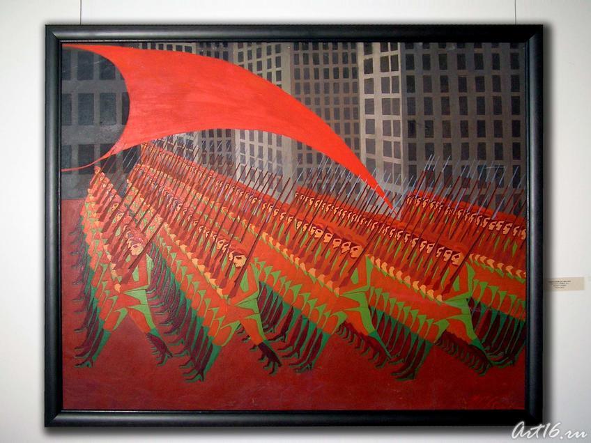 Красная армия. Чеботарев К.К.::Казанская художественная школа