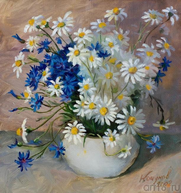 Кочунов. 2002::Танец цветов. Выставка