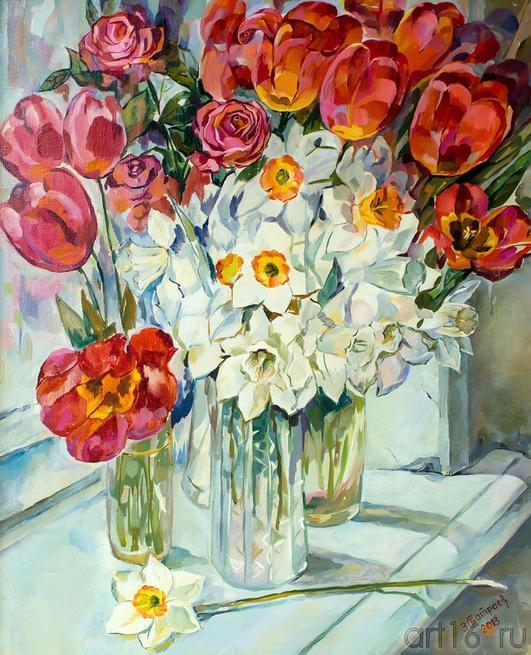 Цветы Закира Султановича Батраева::Танец цветов. Выставка