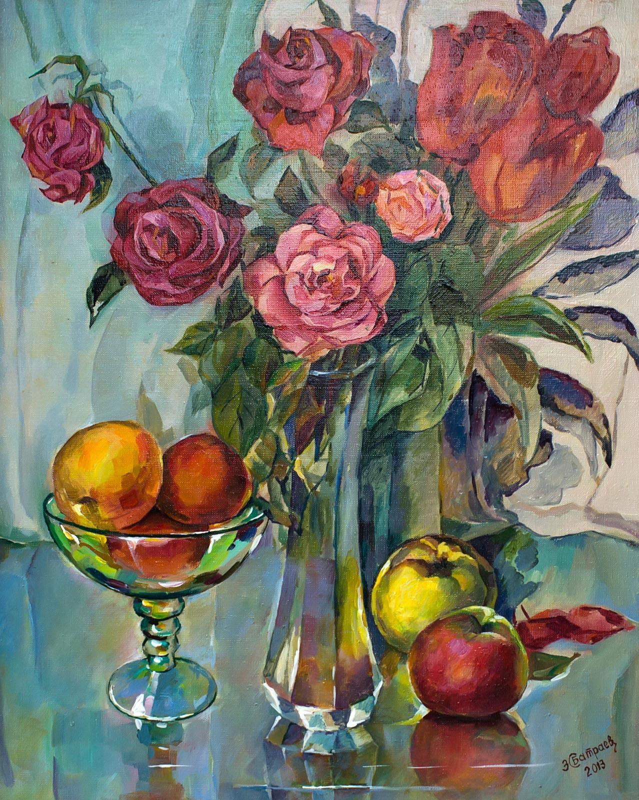 Фото №147988. «Розы и тюльпаны» З.С.Батраев