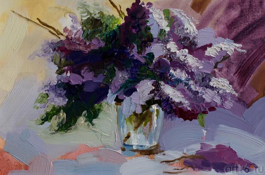 Габдрахманова Елена «Сирень в вазе»::Танец цветов. Выставка