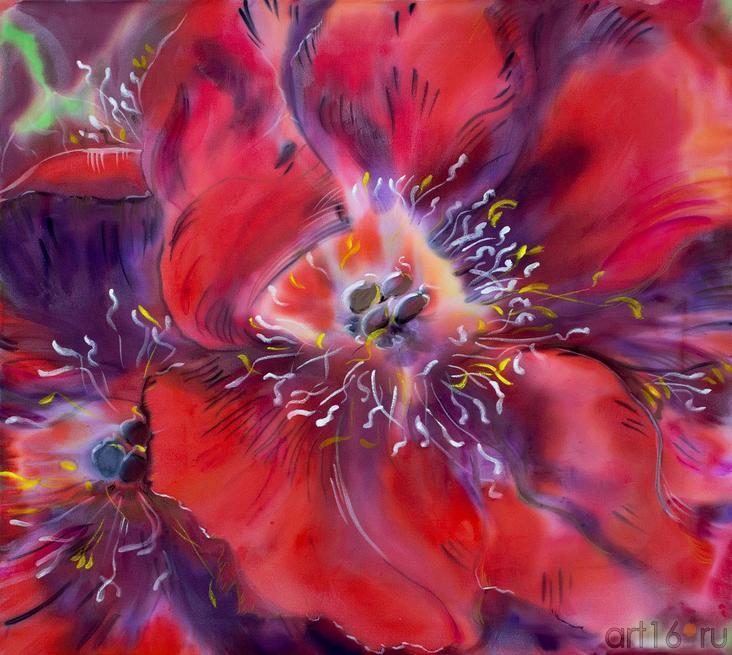 Цветы Ирины Красновой-Волгиной::Танец цветов. Выставка