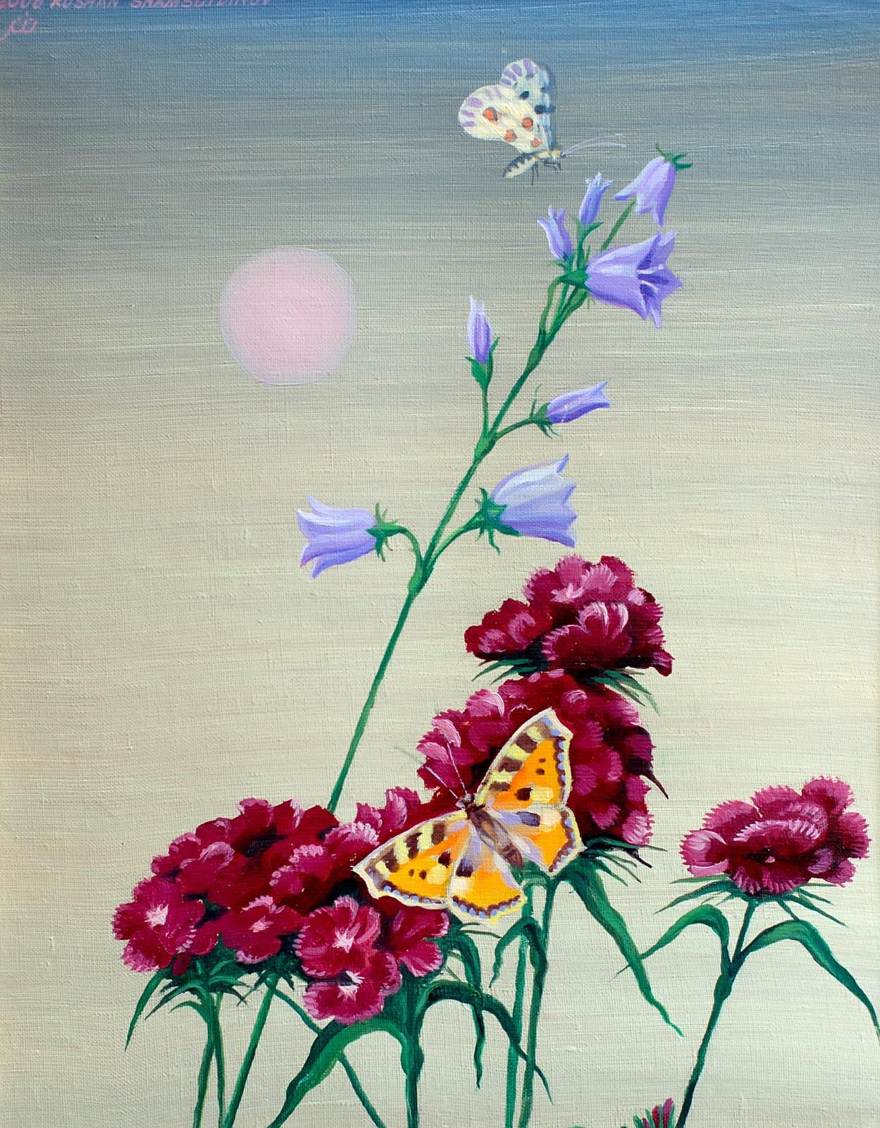 Фото №148048. Гвоздики и бабочки. 2006. Рушан Шамсутдинов