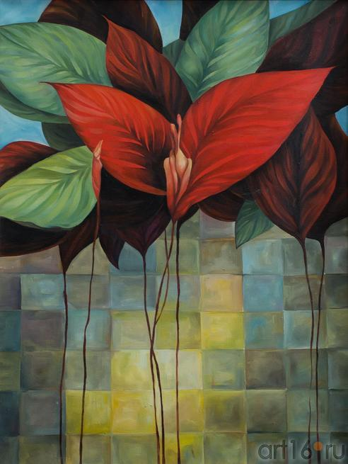 Купряхина Людмила «Ирис»::Танец цветов. Выставка