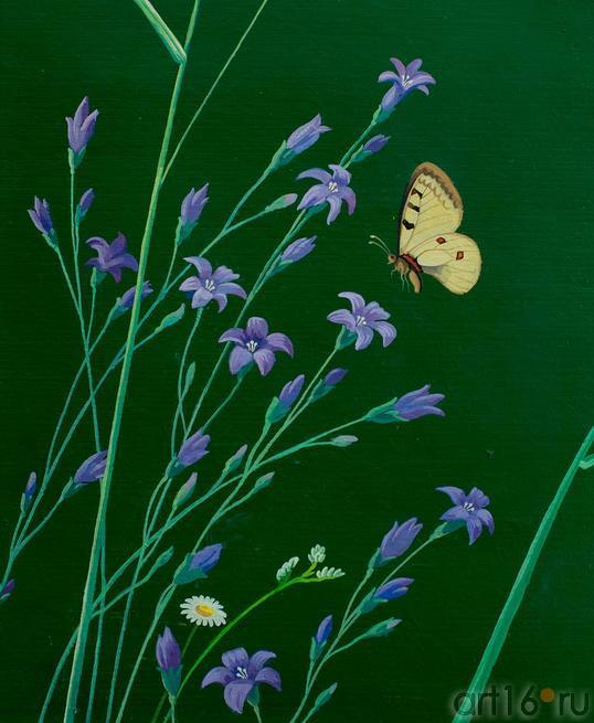 Цветы и бабочки. 2001. Рушан Шамсутдинов::Танец цветов. Выставка