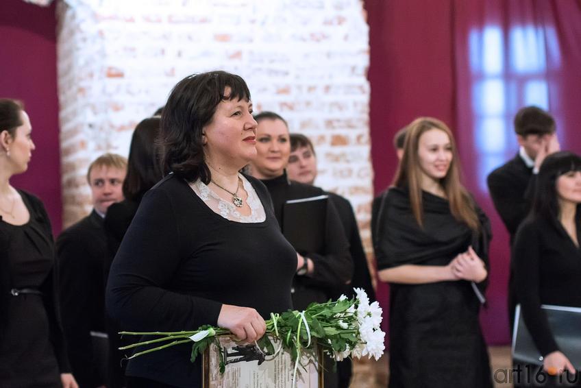 Фото №149420. Миляуша Таминдарова и ГКХ РТ в храме Сошествия Святого Духа