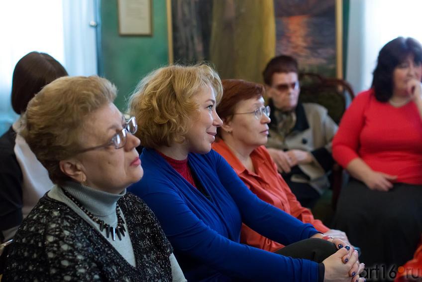 Фото №149511. На творческом вечере Альбины Абсалямовой в музее Е.А.Боратынского