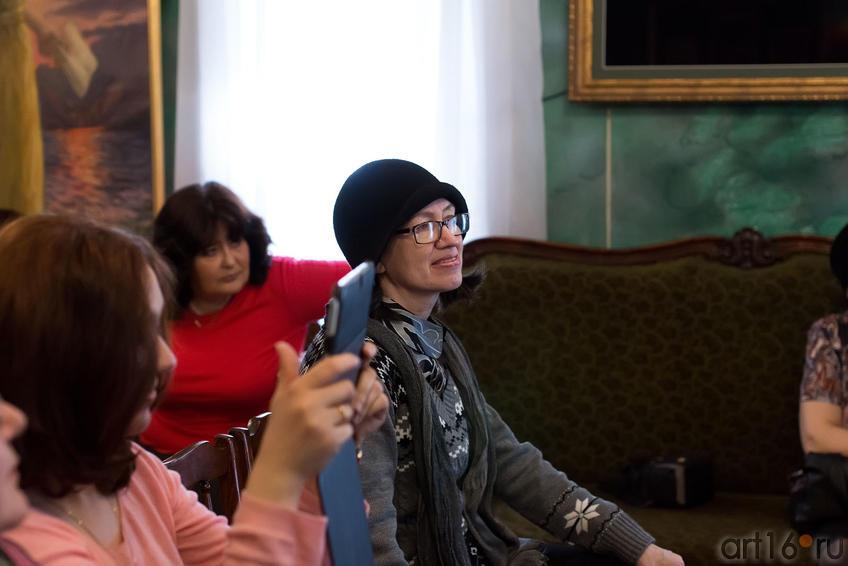 Наиля Ахунова на творческом вечере Альбины Абсалямовой::Творческая встреча с поэтессой Альбиной Абсалямовой