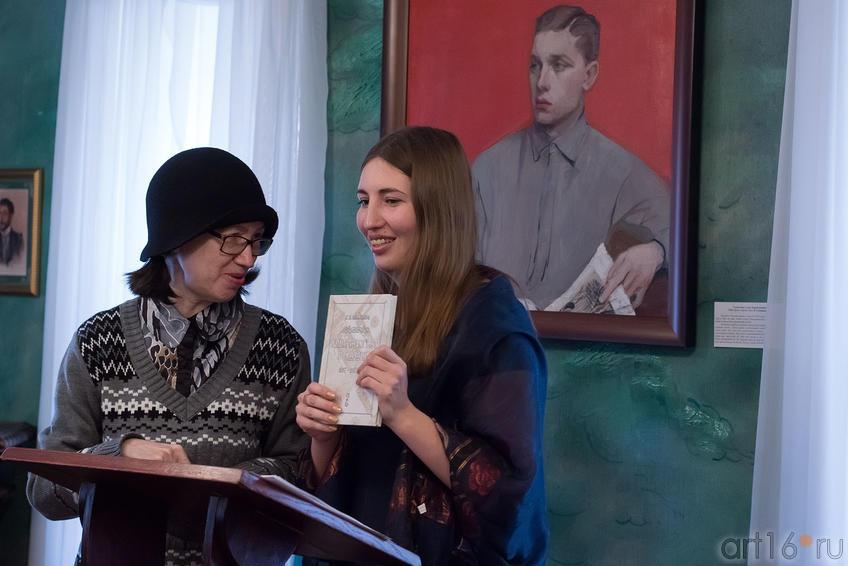 Наиля Ахунова, Альбина Абсалямова::Творческая встреча с поэтессой Альбиной Абсалямовой