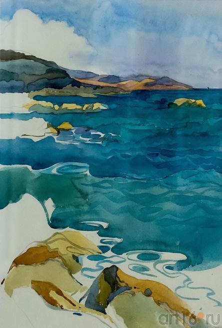 Эгейское море. Ирина Аксенова::«В рамках пространства». Выставка Ирины Аксёновой и Евгения Канаева