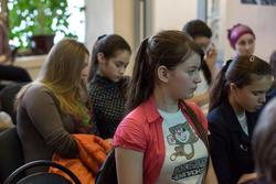 На открытии выставки Анвара Сайфутдинова в редакции газеты ''Шахри Казан''