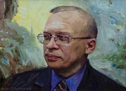 Портрет Балашова Юрия Анатольевича. А.Сайфутдинов