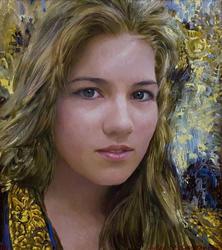Портрет работы А.Сайфутдинова