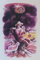 ХАСЬЯНОВА Ф.Ш. 1952 Г. ШМУЦТИТУЛЫ К СБОРНИКУ СТИХОВ Д. СУЛЕЙМАНОВА «ФИОЛЕТОВЫЙ ДЗЕН». 2006