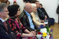 На открытии выставки Скоморохова С.Г.