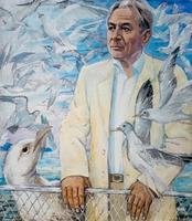СКОМОРОХОВ С.Г. 1952, портрет Р.Тазетдинова