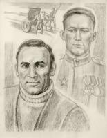 ПОПОВА В.В. 1933 Портрет В.М.Маликова, 1985