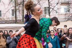 День танца в Усадьбе Сандецкого. Казань 2013