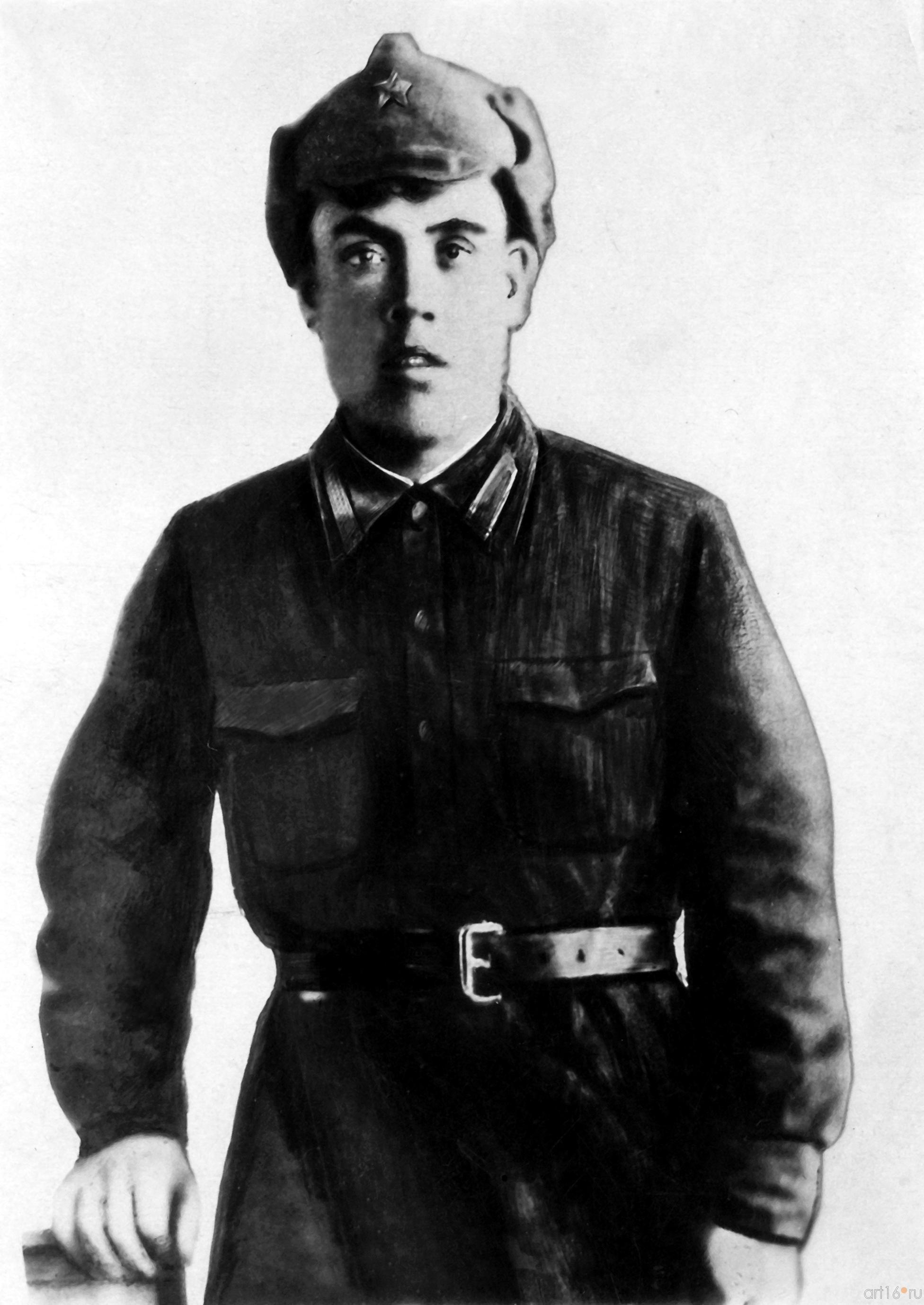 Газинур Гафиатуллин, 1942::Выставка к Дню Победы. 9 мая 2013 г.