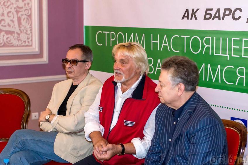 Фото №153786. Сергей Коробков, Владимир Васильев, Рауфаль Мухаметзянов