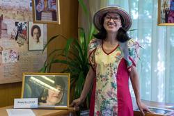 Наиля Ахунова в Библиотеке Серебряного века