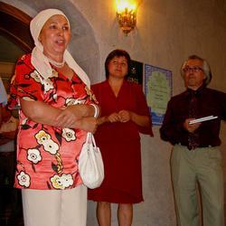 Церемония открытия выставки шамаилей Н.Наккаша
