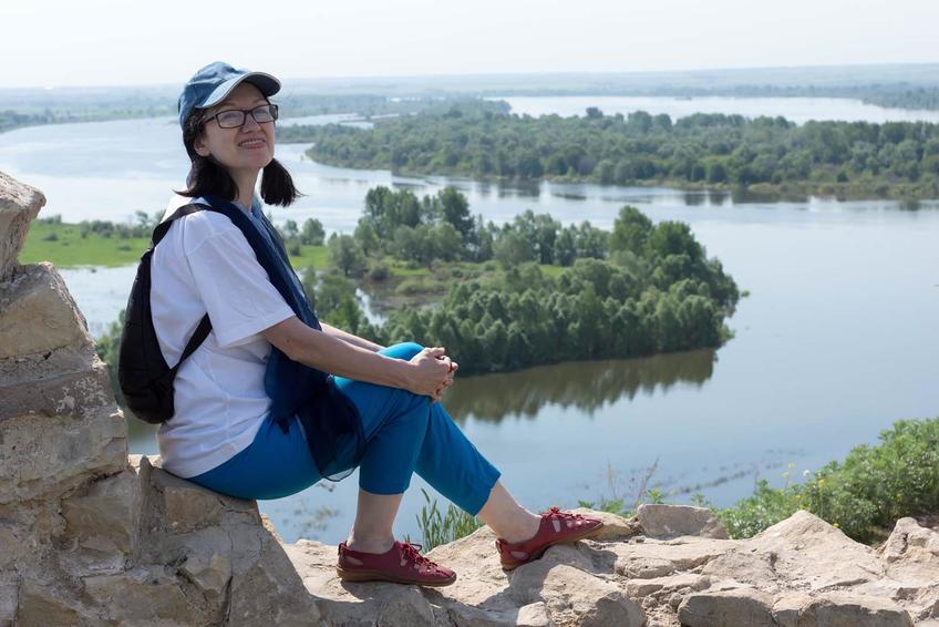 Фото №158644. Наиля Ахунова. Елабуга, 1.06.2013 «Хайкумена на Каме» (Тойме)