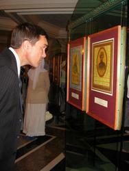 На выставке шамаилей Н. Наккаша