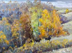 ОСЕНЬ НА р.МСТЕ. 2011, КАРЯКИН В.Т. 1938