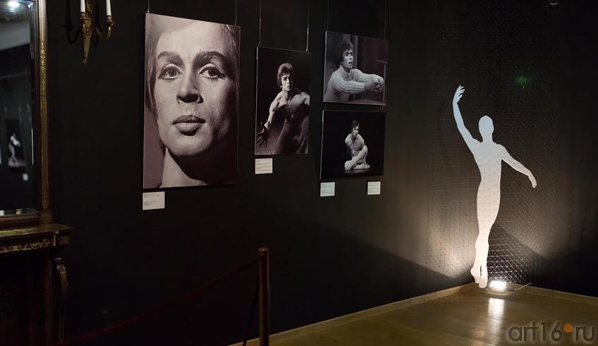 Фрагмент экспозиции::«Нуриев — танец»