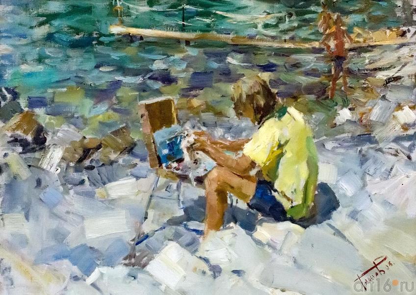 Фото №161241. О.А. Теняев, Юный художник 2005