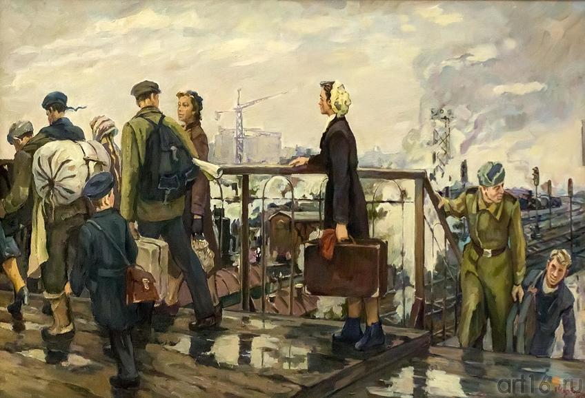Фото №161489. ЧОРБАДЗЕ-ТОЛМАСОВА Л.Г. 1931, Москва. В НОВУЮ ЖИЗНЬ