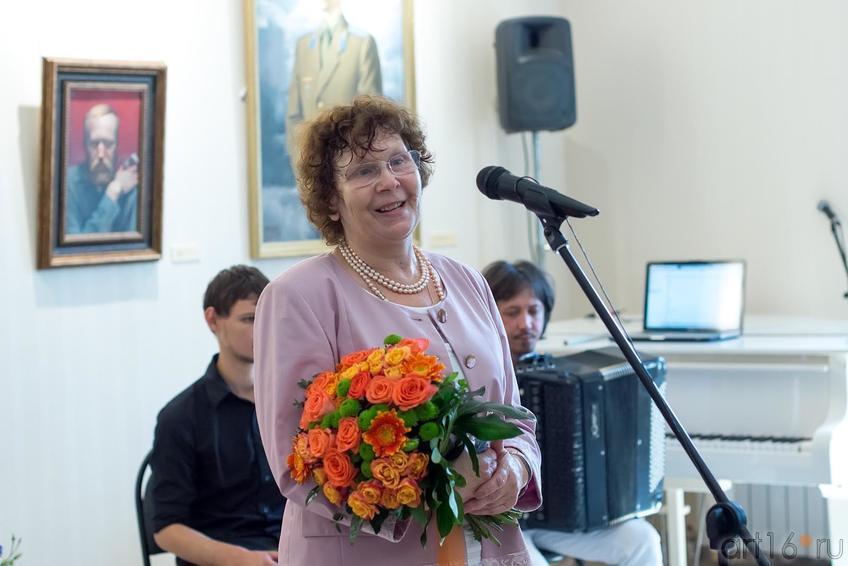 Валентина Алексеевна Васильева::Открытие музея К.А.Васильева. 26 июня 2013 года, Казань