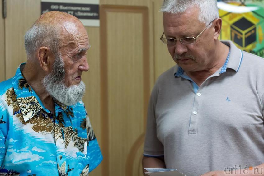 Владимир Попов, Рашит Хайруллин ::Владимир Попов. Выставка «Единение»
