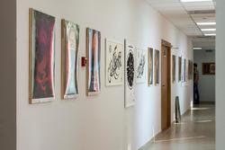 Фрагмент экспозиции выставки В.Попова