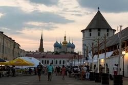 Sunday Up Market, день первый. 28.06.2013, Казанский кремль