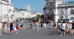 Флэшмоб у стен Казанского кремля. 29.06.2013