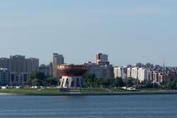 Казанская чаша. Здание ЗАГСа на берегу Казанки