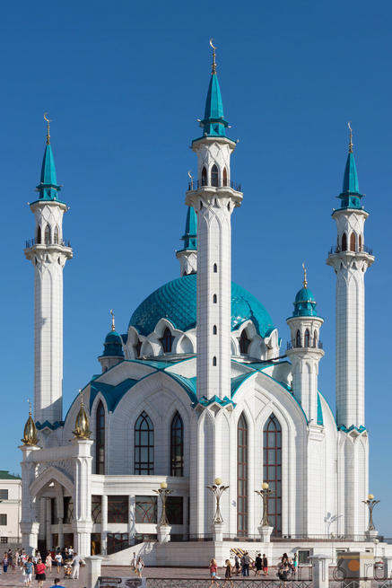 Мечеть «Кул Шариф». Фото в высоком разрешении::V Фестиваль Современной Культуры Kremlin LIVE'13