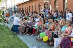 На концерте в Пушечном дворе. Kremlin LIVE -2013